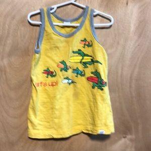 Gap tank shirt - with alligators